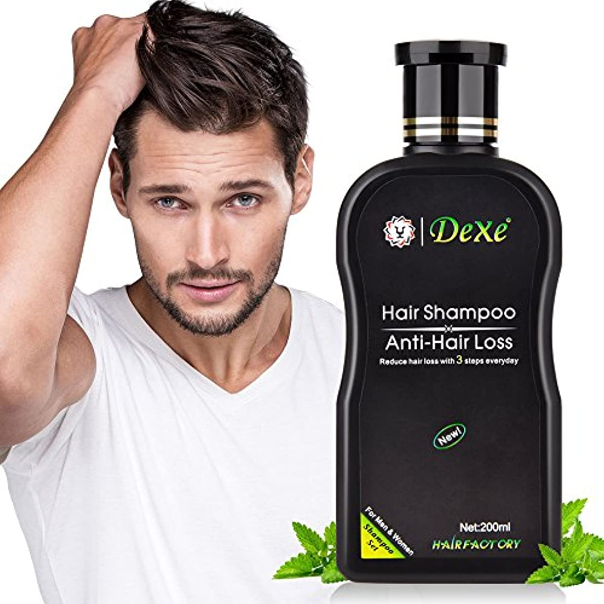 実際マダム従事した(最もよい価格)2pcs Xの毛の成長の刺激的なシャンプー、反脱毛の毛のシャンプー、男性及び女性のための自然な草のエキスの薄くなる毛の処置、200ML ( 2pcs X Hair Growth Stimulating Shampoo...