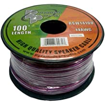 Pyramid RSW14100 14 Gauge 100 Feet Spool of High Quality Speaker Zip Wire