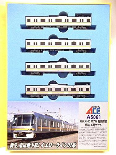 Nゲージ A5061 東京メトロ07系 有楽町線増結4両セット