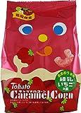 東ハト キャラメルコーン練乳いちご味 77g×12袋