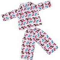 Lovoski  人形 ソフト パジャマ 18インチアメリカンガールドール適用 装飾 全5種類 - 02