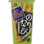 森永製菓  ポテロング<のりわさび>  43g×10個