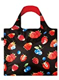 JUICY Strawberries Bag: Gewicht 55 g, Groesse 50 x 42 cm, Zip-Etui 11 x 11.5 cm, handle 27 cm, water resistant, made of polyester, OEKO-TEX certified, can carry up to 20 kg