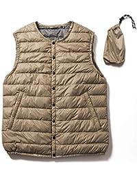 4dca695d40803 Amazon.co.jp  ベージュ - ベスト   トップス  服&ファッション小物