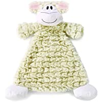 Nat and Jules Rattle Blankie, Langley Lamb by Nat and Jules