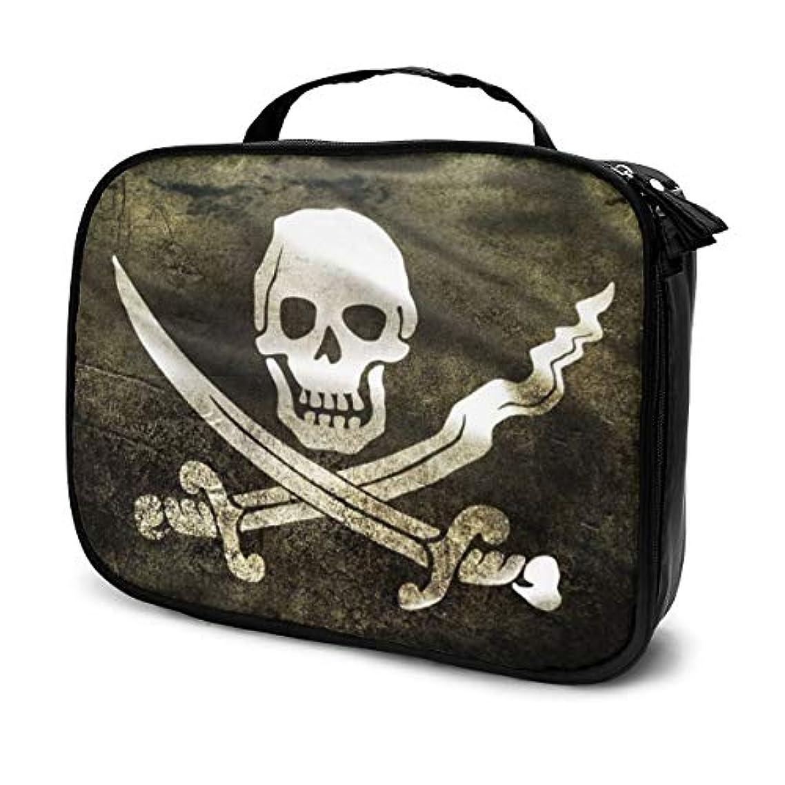 怒り考古学的な皮肉な化粧ポーチ 海賊ジャックキャプテンCaptain Jack 女性化粧品バッグ ビューティー メイク道具 フェイスケアツール 化粧ポーチメイクボックス ホーム、旅行、ショッピング、ショッピング