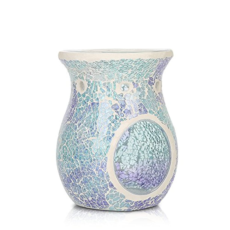 魔術撤退狐モザイクオイルバーナー/ Essential Oil Burner / TealightsモザイクワックスMelt / Aromatherapy Essential Oil Burner / Hollow Flower...