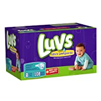 Luvs With Ultra Leakguards Big Pack Size 2 Diapers 108 Count