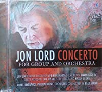 JON LORDS CONCERTO FOR GROUP AND ORCHESTRA