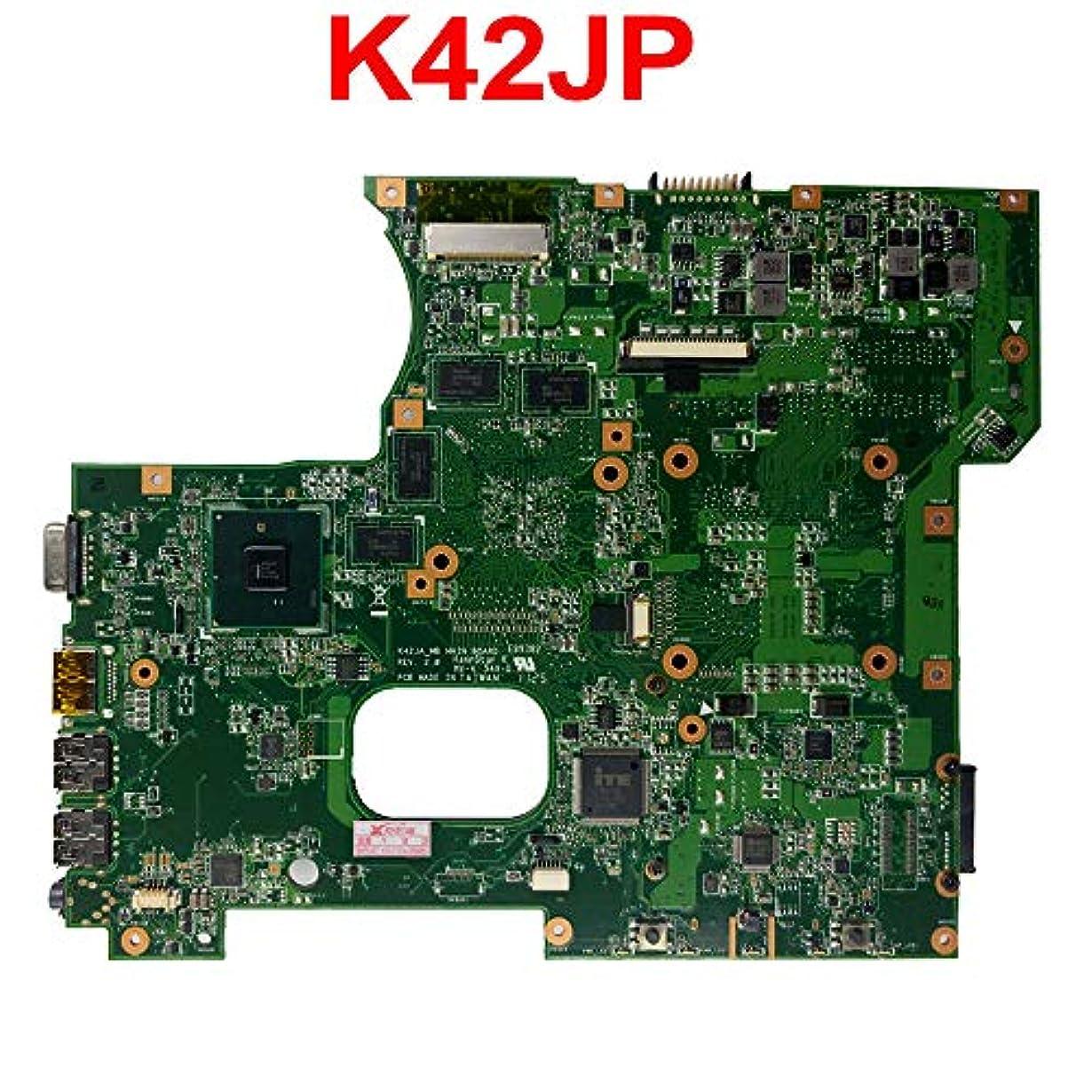 シンカンアボート冬FidgetKute K42J A42J X42J K42JA K42JV K42JP HD6570 2GB マザーボードメインボード