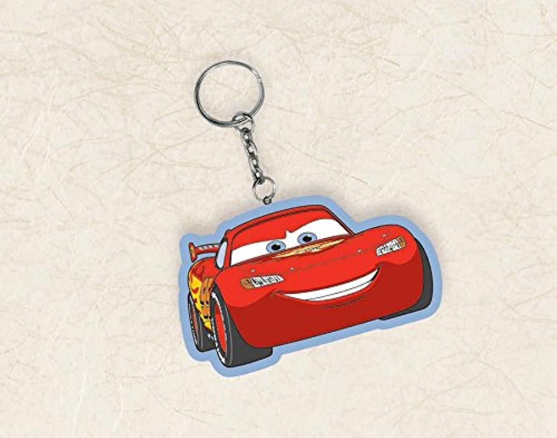 ディズニー カーズ Cars マックイーン ラバー キーホルダー