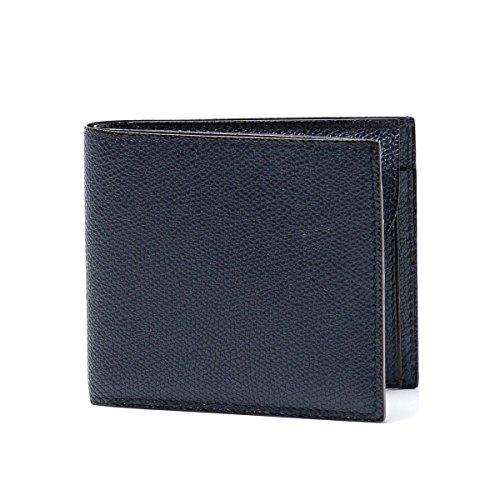 (ヴァレクストラ) Valextra 二つ折り 財布 小銭入れ付き LEATHER [並行輸入品]