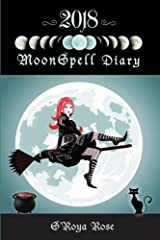 2018 Moonspell Diary: Magikal Lunar Yearly Diary/Journal Paperback