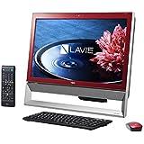 日本電気 LAVIE Desk All-in-one - DA370/BAR クランベリーレッド PC-DA370BAR