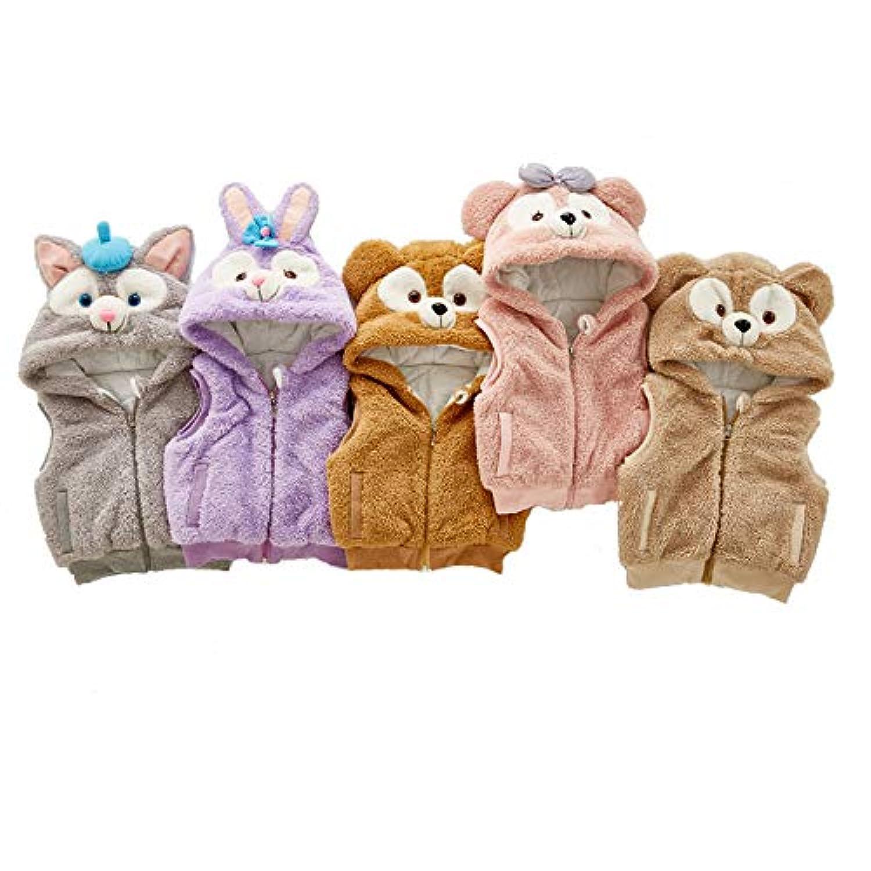 2018ベビーガールズ冬は、オーストウェア動物の子供服を着て新生児ボーイズコート暖かいキッズウエストまたは10代