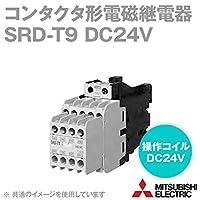 三菱電機 SRD-T9 DC24V コンタクタ形電磁継電器 (操作コイル: DC24V) (接点構成: 9a) (定格絶縁電圧: 690V) NN