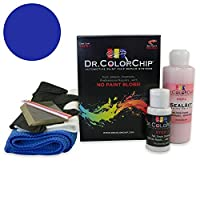 Dr。ColorChipレクサスsc300/ 400Automobileペイント Squirt-n-Squeegee Kit ブルー DRCC-591-4220-0001-SNS