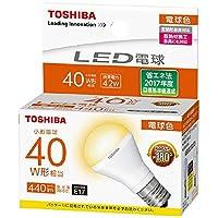 東芝 LDA4L-G-E17/S40WST LED電球 電球色