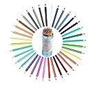 色鉛筆 水彩色鉛筆 塗り絵 画材セット 水彩画色鉛筆セット 美術 描き用 収納ケース付き (48色)
