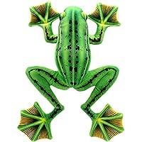 TAGLN ホームデコレーションソフトぬいぐるみクリスマスプレゼント現実的なぬいぐるみの緑のカエル 45 CM
