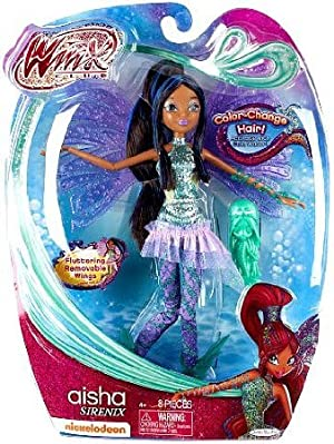 Winx Aisha Sirenix ドール 人形 フィギュア(並行輸入)