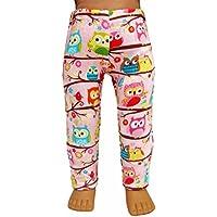 Pink Owl Leggings for 18