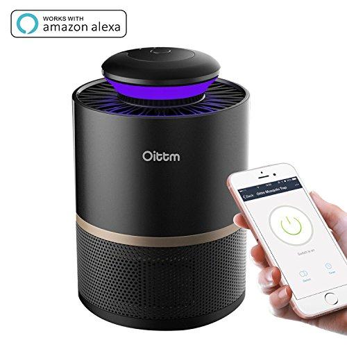 Oittm スマート 蚊取り器 タイマー機能 UV光源吸い込み式捕虫器 AP...