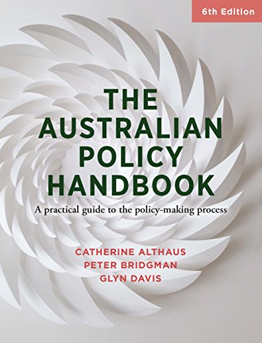 amazon co jp the australian policy handbook a practical guide to