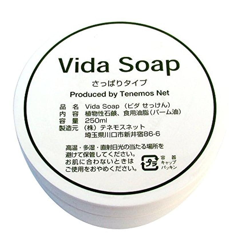タイヤ状文字通りテネモス ビダせっけん Vida Soap さっぱりノーマル 植物性 250ml