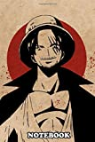 "Notebook: Shanks Sketch Art From One Piece Anime , Journal for Writing, College Ruled Size 6"" x 9"", 110 Pages"