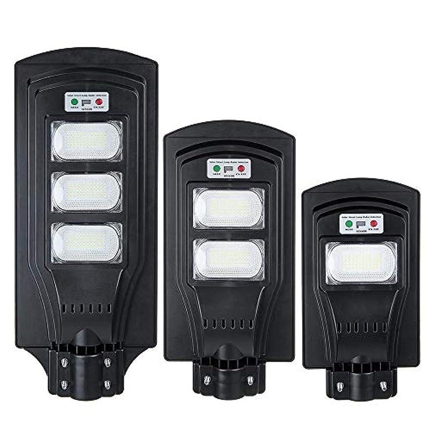 アクセスできない酸化物道人感センサーライト ガーデンライト リモコン付きLEDソーラー街路灯PIRモーションセンサーブライトウォールランプ 玄関先/庭/駐車場/ガーデン等屋内外に適応 (Color : Black, Size : 180LED)