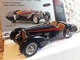 ブガッティ 1/18 CMC Bugatti 57 SC 1938 Corsica Roadster with Red Stripes 300 Pieces [並行輸入品]