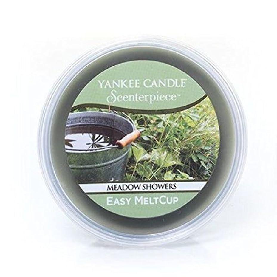 合金発動機物理Yankee Candle Meadow Showers Scenterpiece Easy MeltCup、新鮮な香り