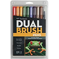 Tombow Dual Brush Pens 10/Pkg-Secondary (並行輸入品)