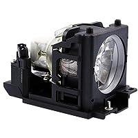 QueenYii dt00691互換for Hitachi cp-x444用交換プロジェクターランプ電球Inside
