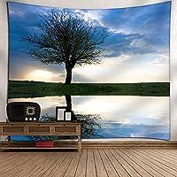 GLYYタペストリー 風景写真パネル オフィスやお家のおしゃれなインテリアに 壁飾り 150*230 CM 壁掛け アートとして プレゼントギフト贈り物 内祝い A12