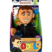Wee Believers Father Juan Pablo 13 Inch Plush Vocation Doll with Story Booklet Gift Set [並行輸入品]