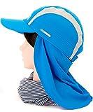 MILLET (ミレー) MILLET 日焼け防止 タレ付き キャップ LONG DISTANCE CAP L(60cm)サイズ 2909)ElectricBlue(ブルー系)