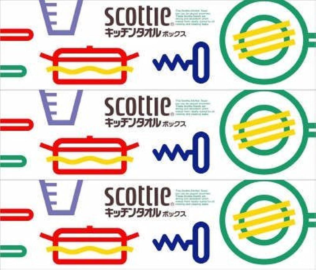 悪性アリーナ援助するスコッティ キッチンタオルボックス 【36個(3コパック×12P)セット】