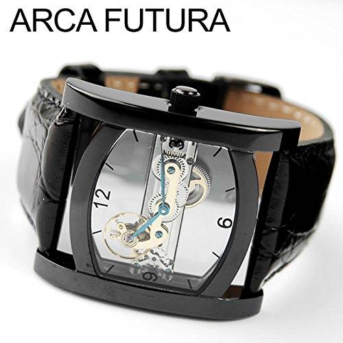 [アルカフトゥーラ]ARCA FUTURA 腕時計 手巻き S13385BBK [正規輸入品]