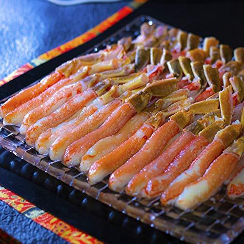 黒帯 生 ズワイガニ ポーション お刺身可 ずわい蟹 足 棒肉 かに むき身 良品選別済 新物 プレミアム (500gx2入 40本 ギフト)
