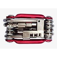 stylishjapan(スタイリッシュジャパン) 万能工具 自転車工具セット 六角レンチ 多機能 折りたたみ バイク 自転車 修理 整備工具 マルチ ツール ドライバー