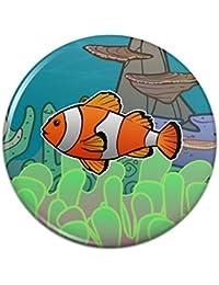 オーシャンリーフコーラルアネモネの幼魚ピンバックボタンピンバッジ - 3