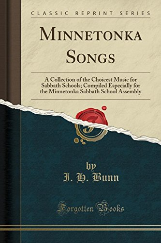 Minnetonka Songs: A Collection...