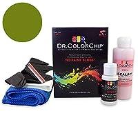Dr。ColorChipホンダエレメントAutomobileペイント Road Rash Kit グリーン DRCC-455-1838-0002-RR