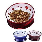 iikuru 犬 食器 スタンド 犬用 フード ボウル いぬ 食事 皿 ペット 猫 餌入れ 猫用 水入れ ペット用 ねこ 器 x676