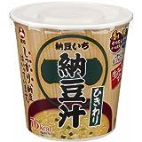 カップ 生みそずい ひきわり納豆汁 31.7g ×6個