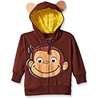 Freeze Curious George Little Boys' Toddler Character Hoodie