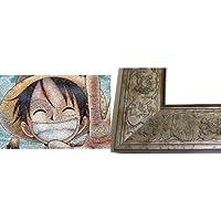 ワンピース 1000ピース ワンピース モザイクアート (50x75cm) ワンピース専用フレーム付