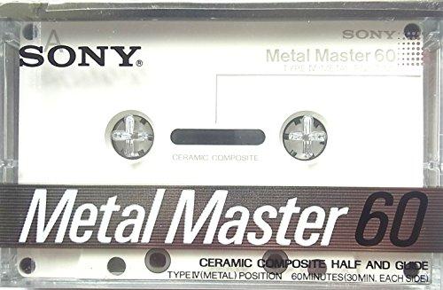 SONY メタルテープ Metal Master 60 トランジェントテクノロジー METAL-MAST 60